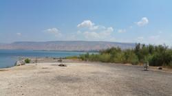 Jordan am südlichen Kinneret