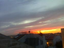 Sonnenuntergang über Nahlaot