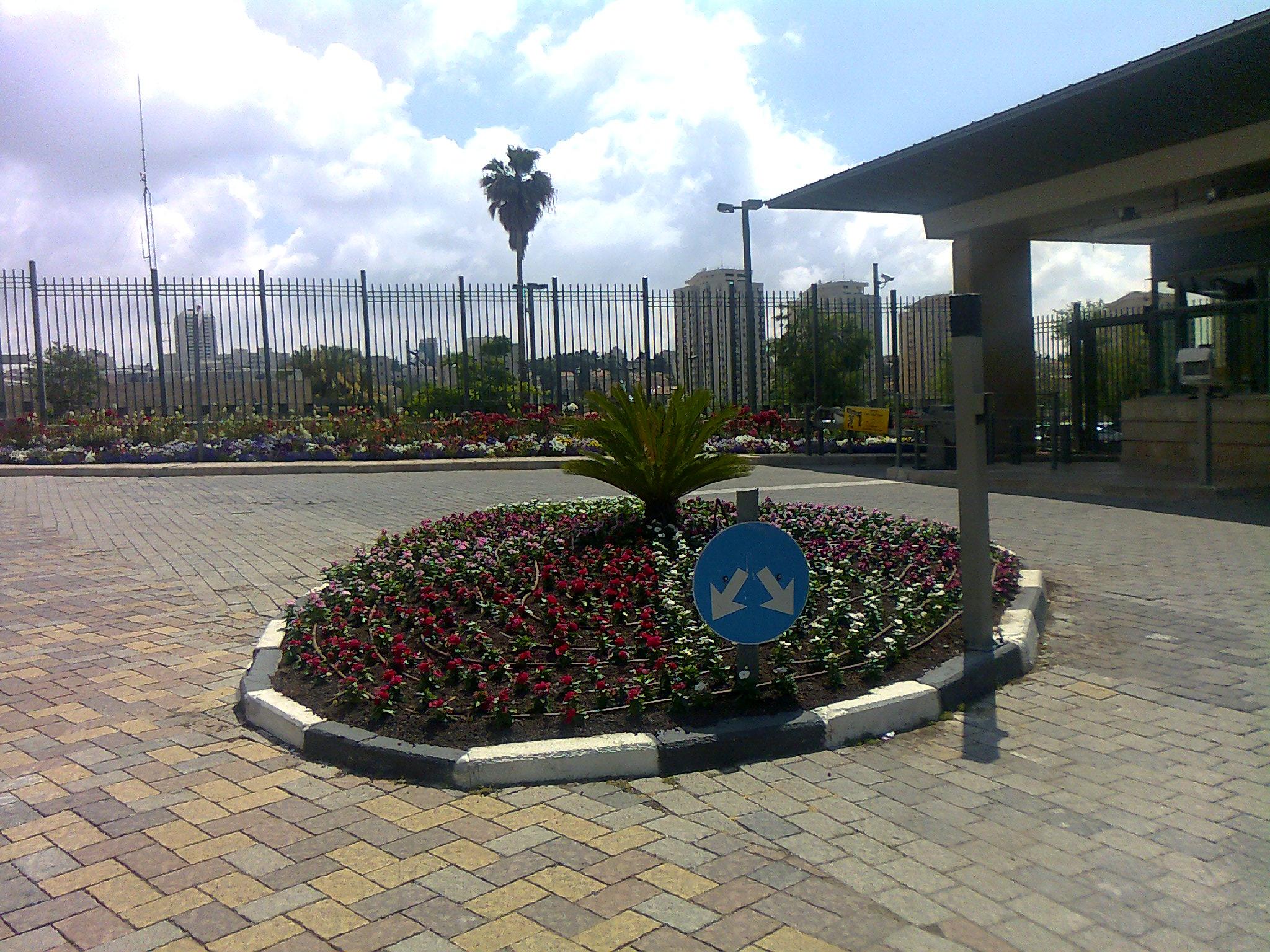 Knesset Eingangsbereich