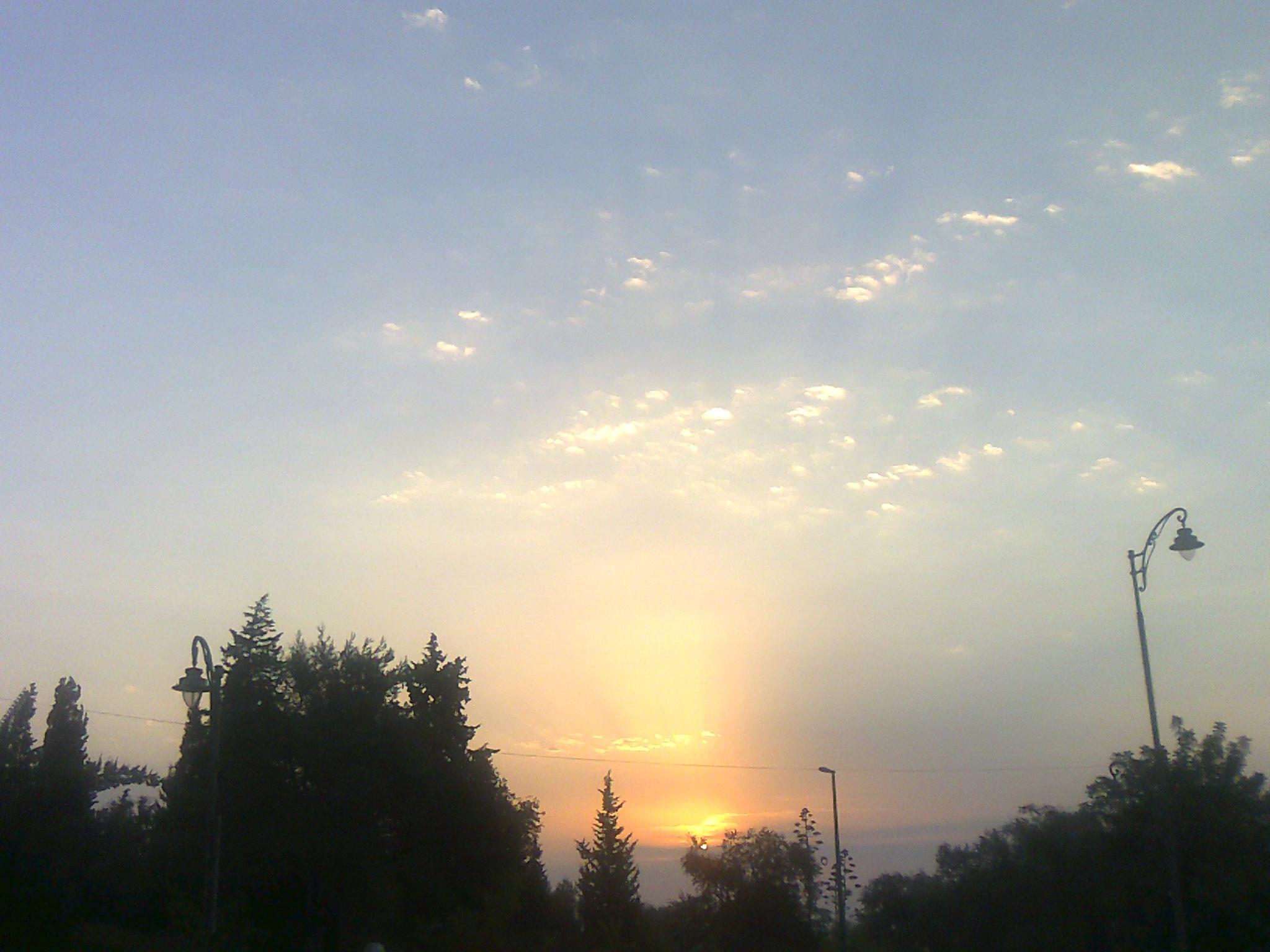 Sonnenuntergang über Jerusalem