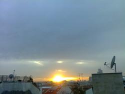 Die Sonne versinkt ...