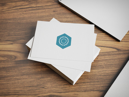 Icon and business card design