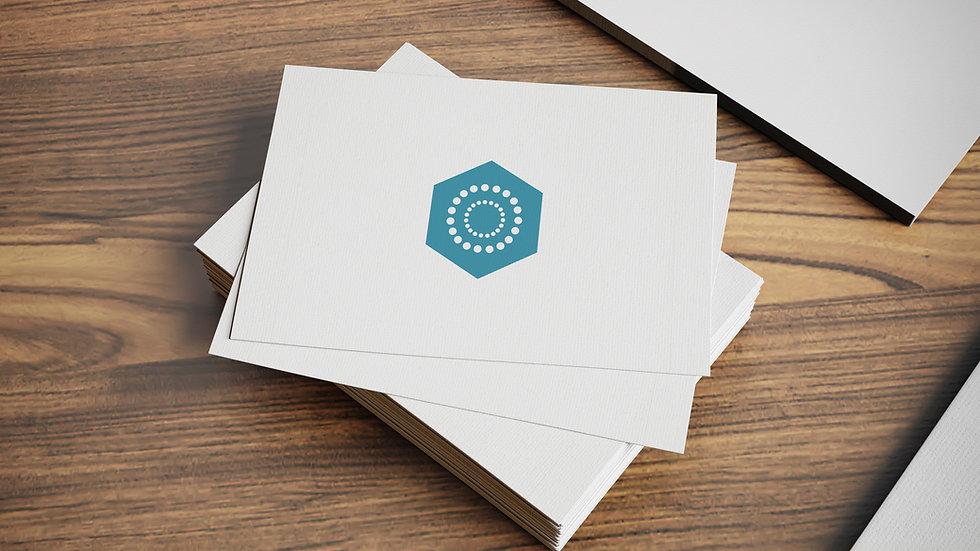 Business Card Display Ad
