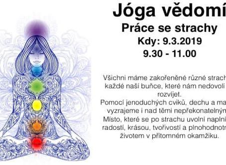 Jóga vědomí v sobotu 9.3. na 90min