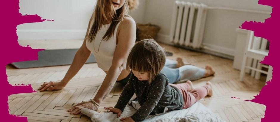 Cvičení pro děti 1-3 roky každé pondělí