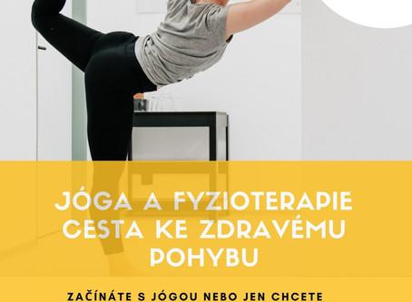 Workshop -Jóga a fyzioterapie - Cesta ke zdravému pohybu