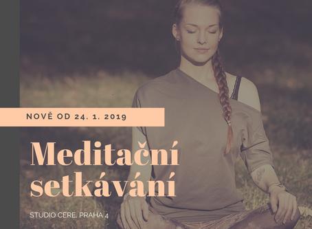 Nově meditace s Alžbětou Protivanskou.