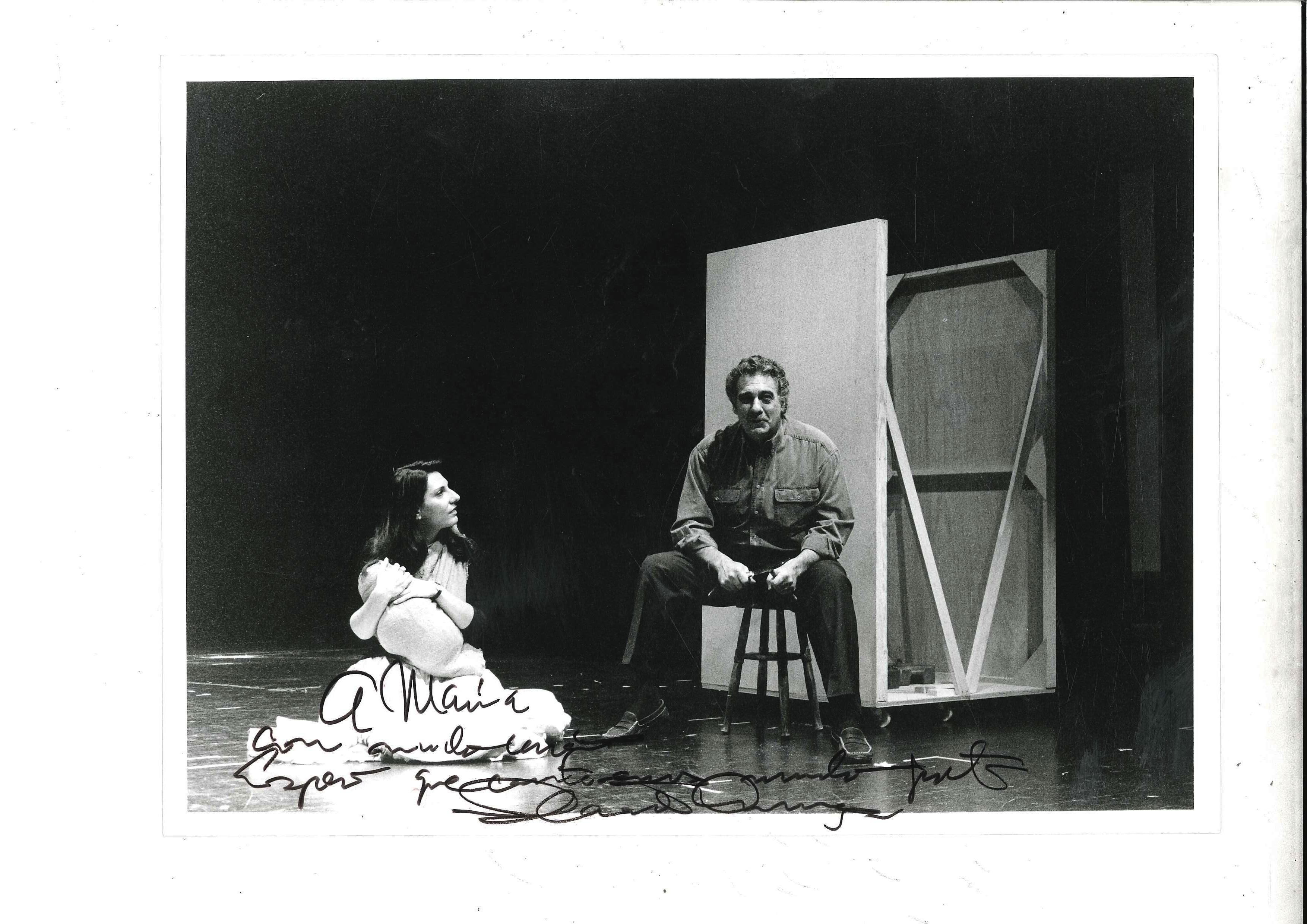 """""""Divinas Palabras"""", Plácido Domingo."""