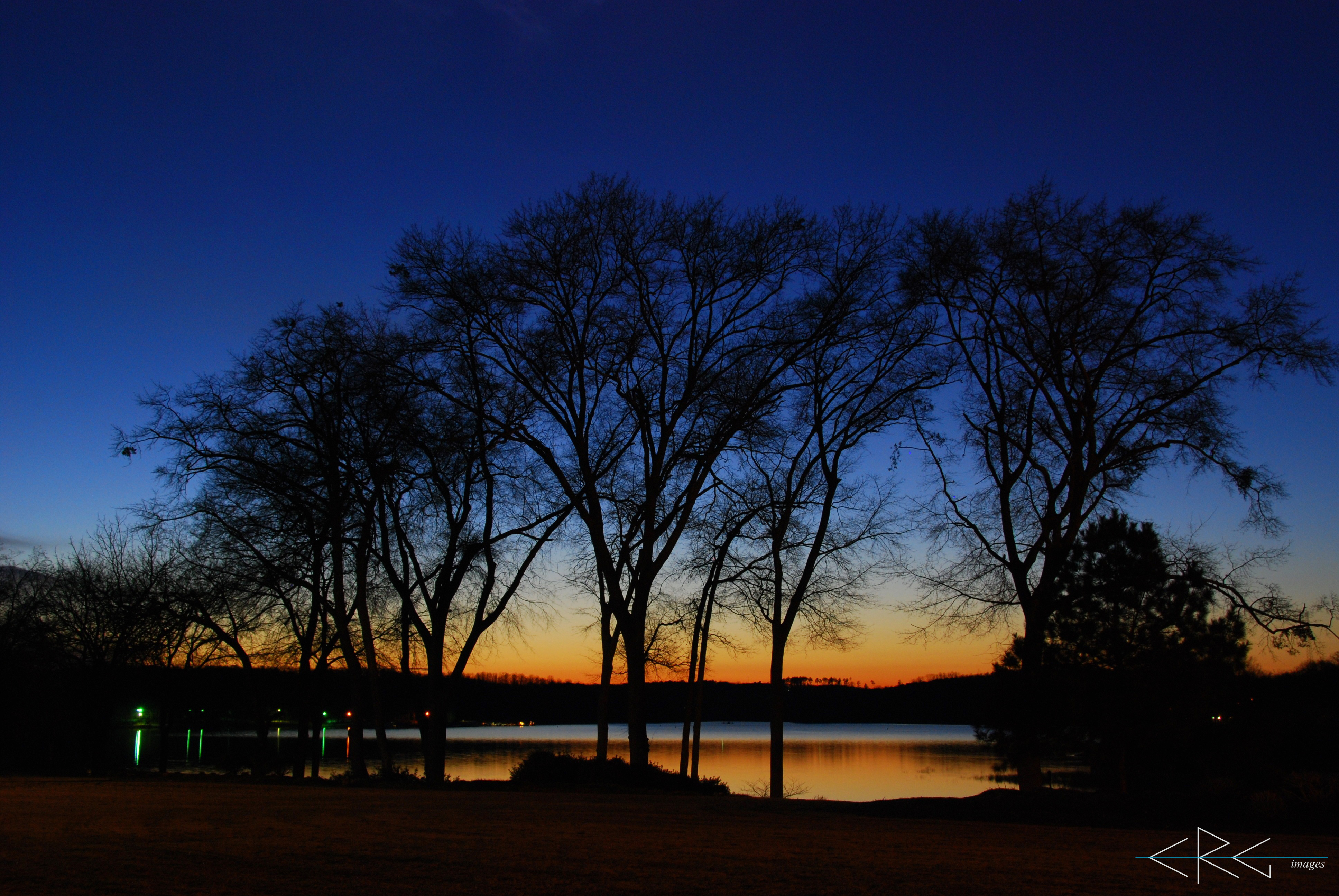 Lake Hartwell Sunset March 7, 2010 (6)_signed