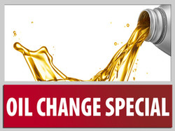 Oil Change Special Lube Shop