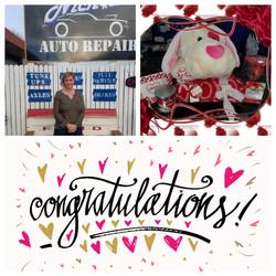 Auto Repair Shop Valentines Day Winner
