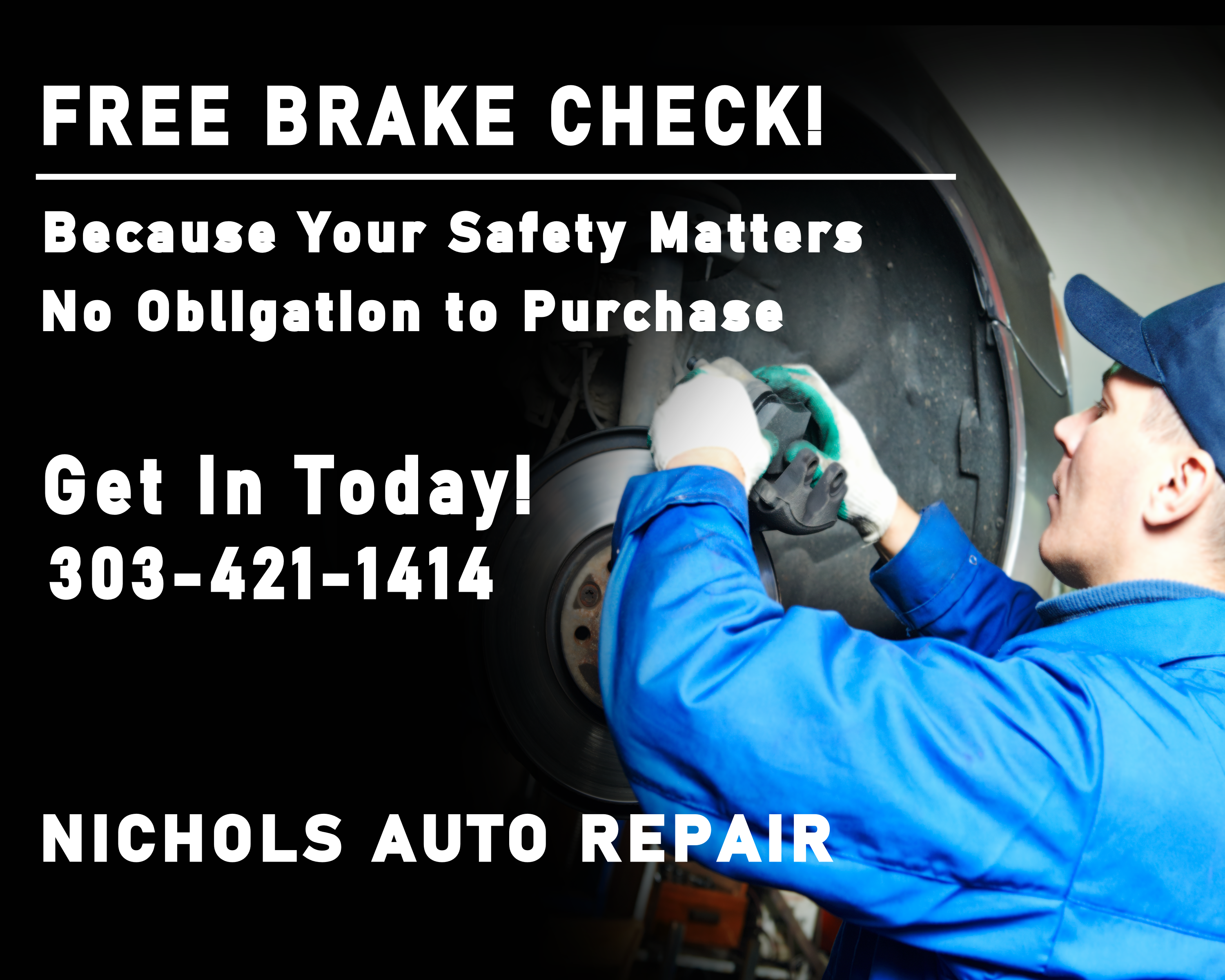 Free Brake Inspection Near Me Nichols Au