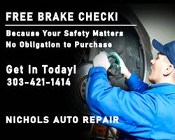 Free Brake Inspection Near Me Nichols Au