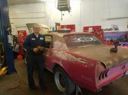 Classic Mustang Mechanic Shop in Wheat Ridge Colorado