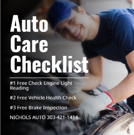 Free Auto Inspection Wheat Ridge Mechani