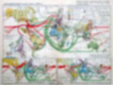 Экономический раздел мира (1929 г.). Карта мира, конец 1920-х гг.