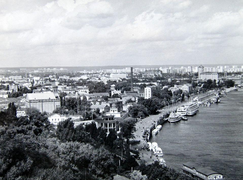 Подол,Киев. Оригинальная фотография, 1970-е гг.