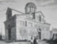 Афинский собор. Гравюра, середина XIX в.
