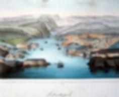 Севастополь. Цветная гравюра, середина XIX в.