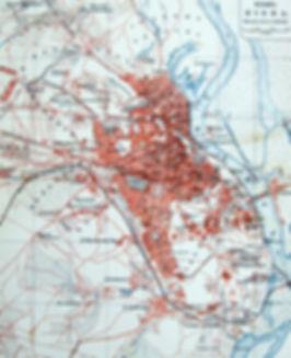 Киев. Старинный план города. Конец XIX в.