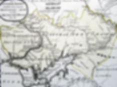 Южная Украина и Крым. Карта, конец XVIII в.