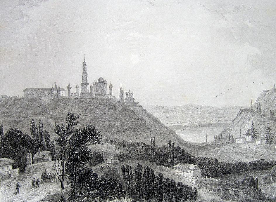 Киев и крепостьГравюра, начало XIX в.