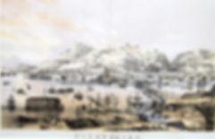 Николаев. Старинная цветная литография. Англия. Середина XIX в.