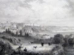 Одесса. Гравюра, начало XIX в.