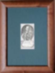 Гетман Иван Мазепа. Гетман Войска Запорожского. Старинная гравюра на дереве. Начало XVIII в.