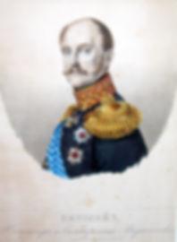 Николай I. Цветная литография, 1851 г.