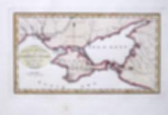 Южная Украина. Причерноморье и Крым. Карта, 1800 г.