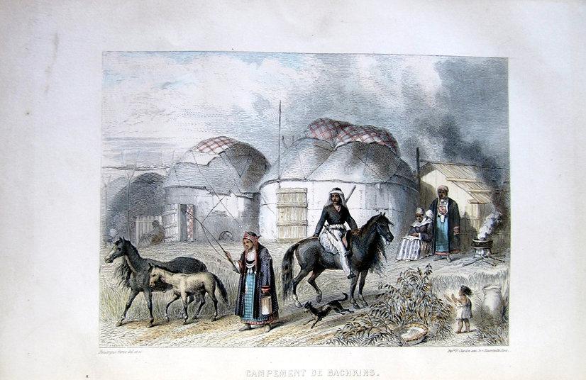 Сен-Жульен, дэ, М.Ш. Иллюстрированное путешествие в Россию. [1853 г.]