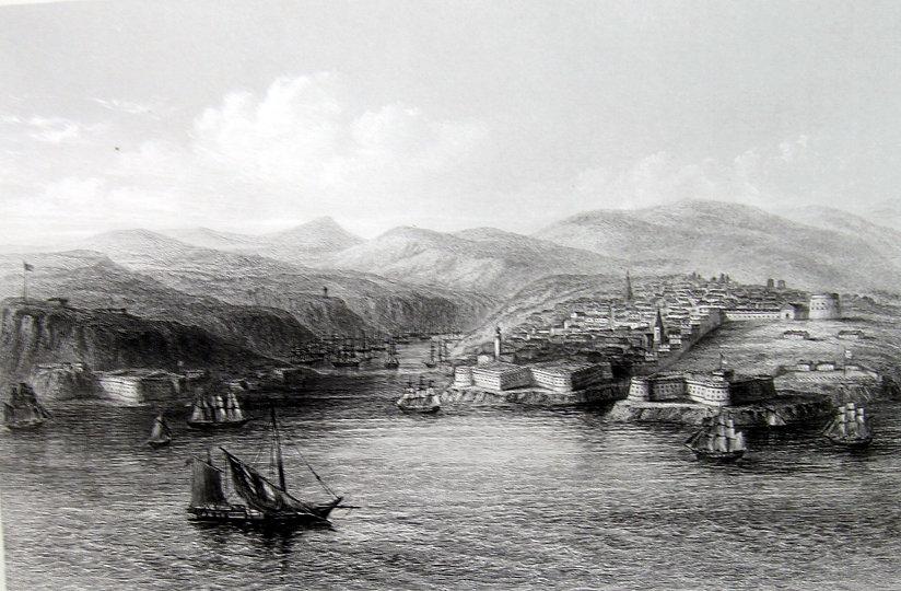 Севастополь. Гравюра, середина XIX в.