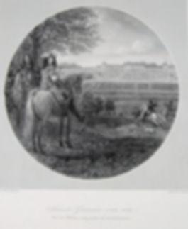 Сен-Жермен в 1669 г. Гравюра, начало XIX в.