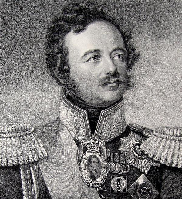 Генерал-фельдмаршал граф Паскевич-Эриванский. Литография, середина XIX в.