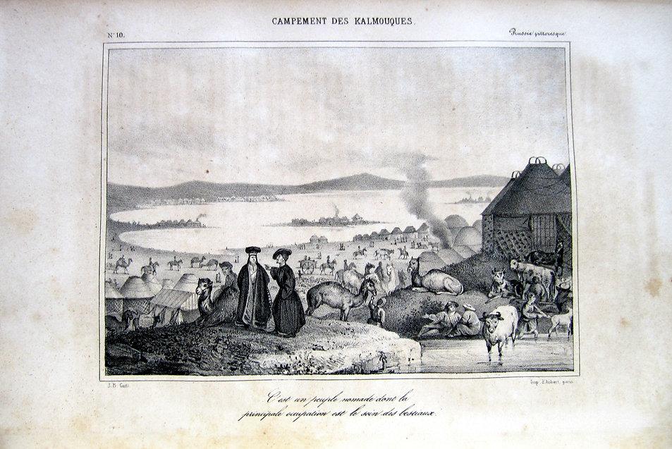 Ж.Чински. Живописная Россия. 1838 г.