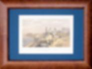 Свято-Георгиевский монастырь и мыс Фиолент в Крыму. Литография, середина XIX в.