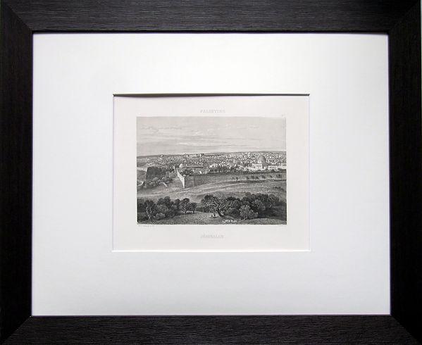 Иерусалим. Литография, середина XIX в.