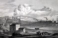 Одесса. Вид на гавань. Гравюра, середина XIX в.