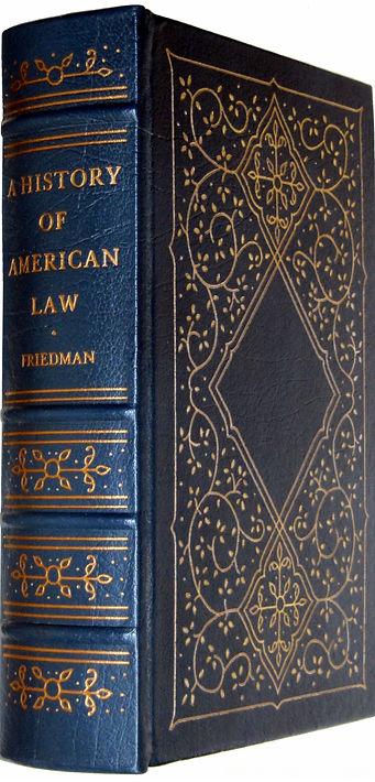 Фридман Л.М. История американского права. 1991 г.