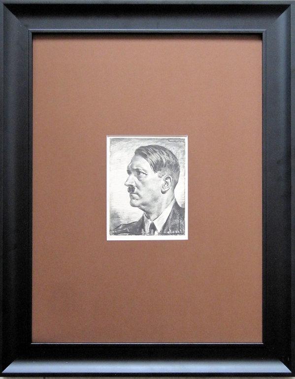 """""""Наш Фюрер"""". Рисунок Отто фон Курсель. Германия. 1940 г."""