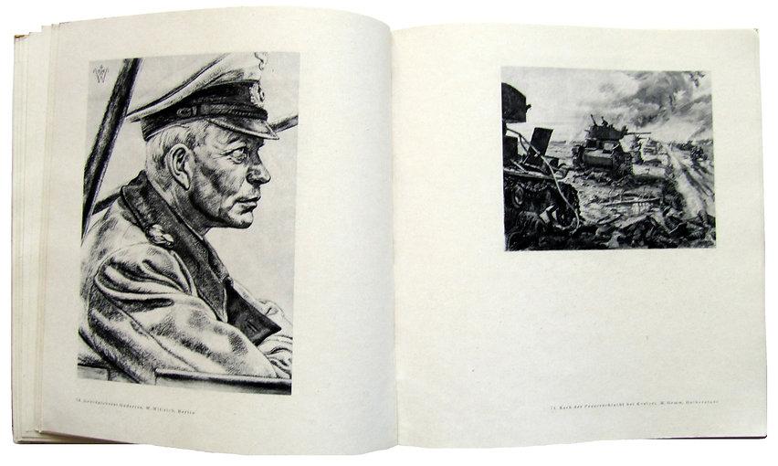 Огонь и краска. 155 картин войны. 1943 г.