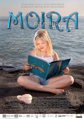 Filmposter korte film Moira het meisje en de zee.