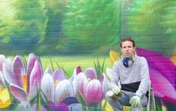 Martijn Prins - Grafitti ziekenhuis
