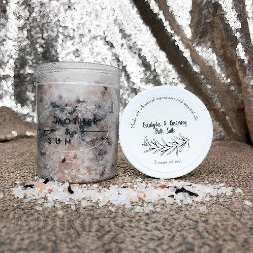 Mother & Sun Bath Salt& Foot Soak - Silver Exclusive