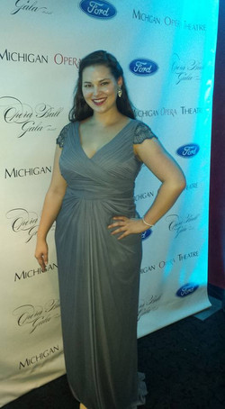 At the Michigan Opera Gala