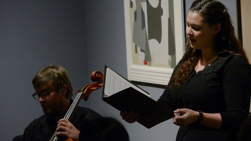 With Aleksander Tengesdal (cello) - EAR  EYE Recital Series at the Toledo Museum of Art
