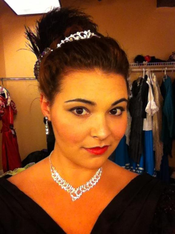 As Olga Kromov - Loudoun Lyric Opera's The Merry Widow