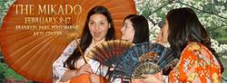 Yum-Yum (Hillary LaBonte), Peep-Bo (Mariana Pino), and Pitti-Sing (Chrissy Vu) - Loudoun Lyric Opera