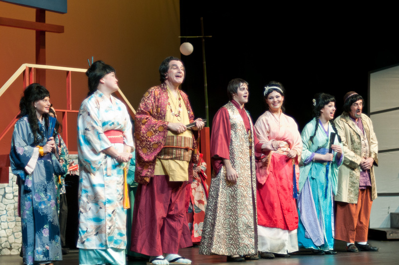 As Yum-Yum in Potomac Theatre Company's The Mikado - Photographed by Harvey Levine